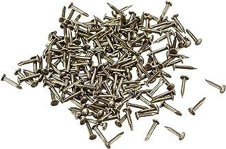 Draadnagels 500pcs Kleine Tiny Nails 1mmx8mm for doe Decoratieve Pictures Houten Dozen Huishoud Accessoires Bronze Tone Sl...