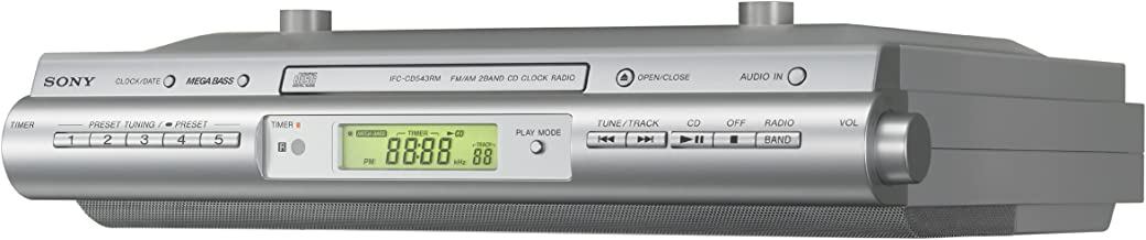 Sony ICFCDK50 Under Cabinet Kitchen CD Clock Radio