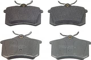 Wagner ThermoQuiet MX340A Semi-Metallic Disc Pad Set, Rear
