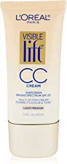 L'Oreal Paris Visible Lift CC Cream, Light/Medium, 1.0 Ounces