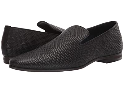 Steve Madden Dieggo Dress Loafer (Black Leather) Men