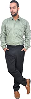 The Mods Men's Casual Light Grey Color Shirt