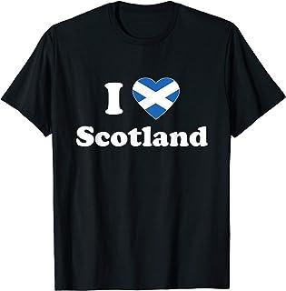 I Love Scotland T Shirt I Heart Scotland Scottish Gift