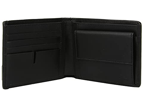 Cartera bolsillo global negro con Alpha antracita Tumi monedero wIwrTUqxp