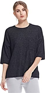 BROADWAY Blouses For Women, Grey, Size S