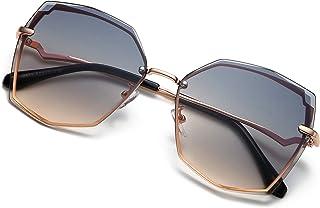 Sunglasses for Women trendy Polygon Oversized Fashion...