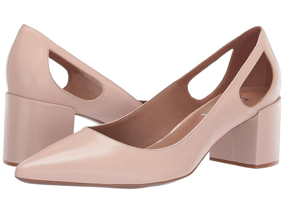French Sole Courtney2 Heel (Pale Pink Nappa) Women