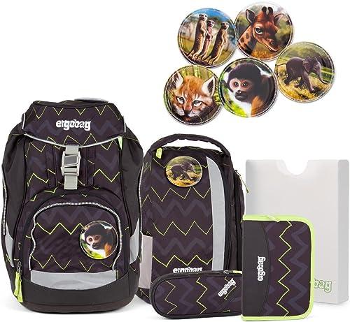 Ergobag pack - Schulrucksack - Set 6 tlg. - Drunter und DrüB - Zobabies Kletties