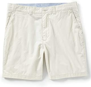 "Cremieux Madison Classic-Fit Flat-Front Lightweight Twill 7"" Shorts S85HX561"