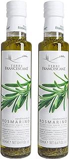 Terre Francescane - Rosmarin-Öl - Extra Natives Olivenöl mit Rosmarin 2er Pack