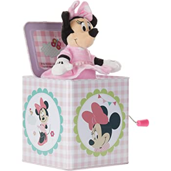 Amazon Com Disney Baby Minnie Mouse Jack In The Box Musical Toy For Babies Baby