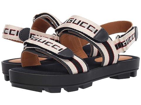 Gucci Kids GG Double Strap Sandal (Little Kid)