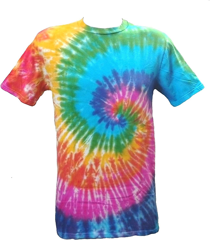 Tie Dye Rainbow Spiral 701562 Kids T-Shirt 7 to 8 Years ...