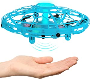 Hand Operated Drone for Kids, Adults & Teenagers - Easy to Play with Hands Free Flying Toy - Unique Valentines Day Idea 2020, Best Boys & Girls Birthday Present - Top Teens & Tweens Easter Gift