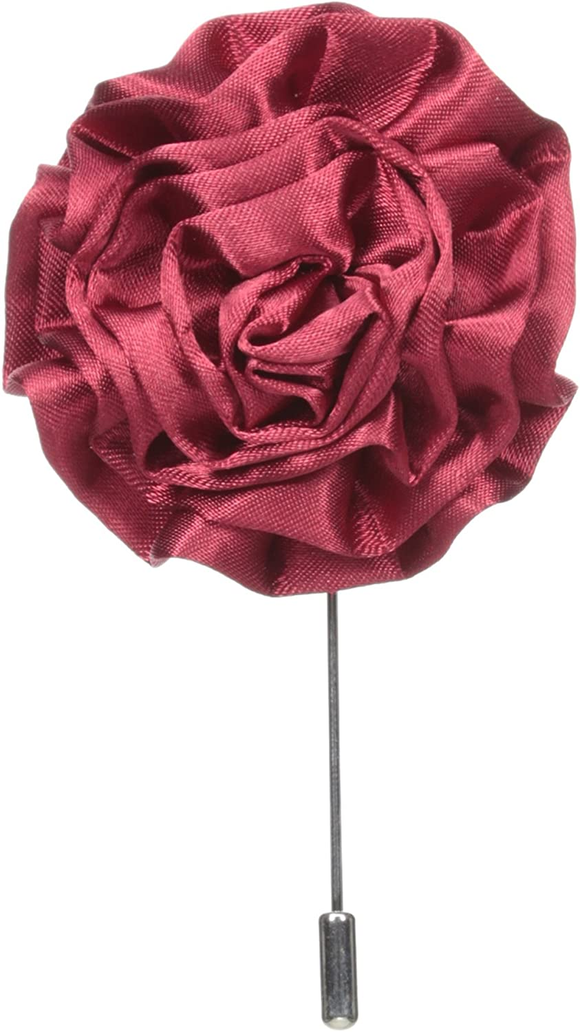 Can have more with request. two of white  color available 1 of pink 8 of burgundy available Floral lapel pins