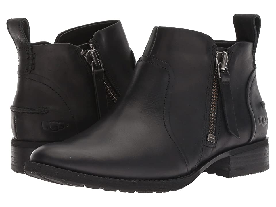 UGG Aureo Boot (Black Leather) Women