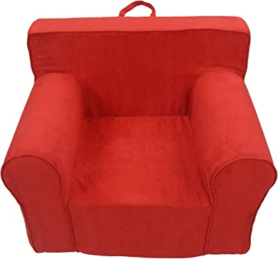 Fun Furnishings The Ultimate Kid's Chair, Red Micro