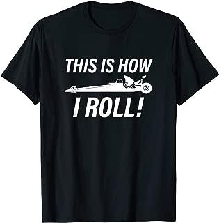 Vintage Drag Racing Design | Funny Gift Men Women | 1/4 Mile T-Shirt