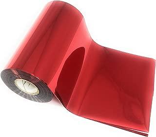 Red Bright Metallic Toner Reactive Craft Foil - Large 4