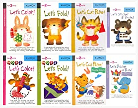 Kumon First Steps Workbooks Complete Set (8 Books) for Ages 2 and Up