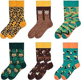 Cotton Colorful Socks for Women Novelty Socks Mens Funny Casual Crew Socks for Women Dress Socks Patterned Socks Cute