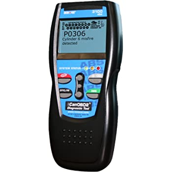 Innova 3100 Diagnostic Scan Tool Code Reader with ABS and Battery Backup for OBD2 Vehicles
