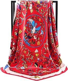Mulberry Silk Like Scarf Women's Fashion Pattern Large 35
