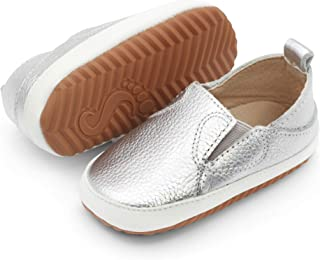 Dotty Fish Chaussures Enfants Décontractées en Cuir. Baskets Enfants à Semelle en Caoutchouc. Chaussures Antidérapantes po...