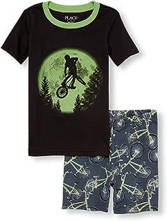 The Children's Place 大男孩上衣和短裤睡衣套装