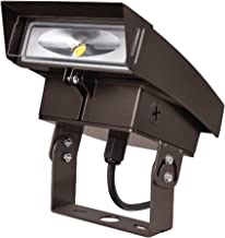 Lumark XTORFLD-TRN Crosstour Trunnion Floodlight Kit, Includes Trunnion Bracket, Small and Large Visor and Impact Shield, Carbon Bronze