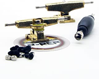 Peoples Republic P-REP 29mm Performance Tuned Fingerboard Trucks - Gold