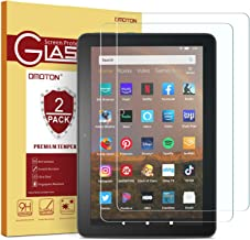 [2 pack] OMOTON Screen Protector for All-New Fire HD 8/Fire HD 8 Plus/Fire HD 8 Kids..