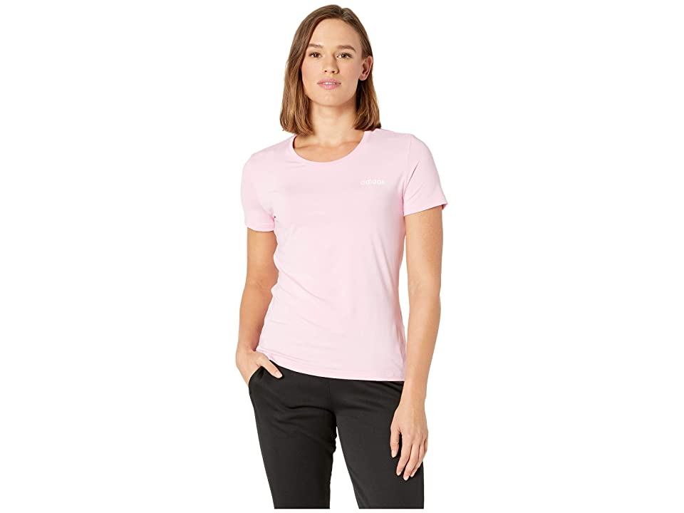 adidas Designed-2-Move Solid Tee (True Pink) Women