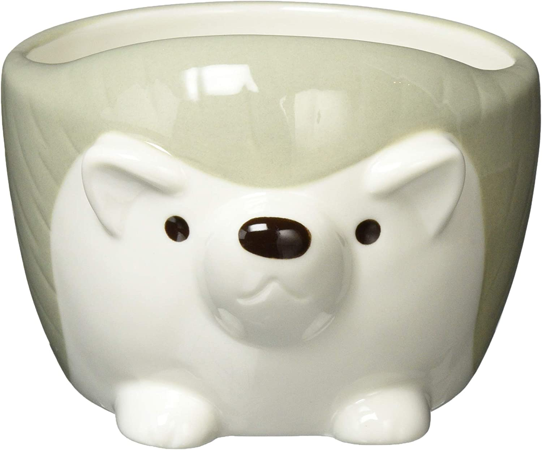 Hedgehog Baltimore Mall Ceramic Round Snack Recommendation Bowl 250ML-Grey Salad