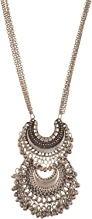 Fashion Turkish Style Beaded Pendant Long Necklace for Women Boho Gypsy