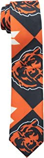 Chicago Bears Patches Ugly Printed Tie - Mens