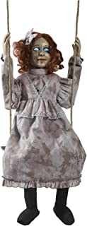 Morris Costumes Swinging Decrepit Doll Prop