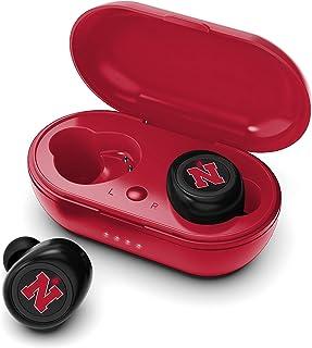 NCAA Nebraska Cornhuskers True Wireless Earbuds, Team Color