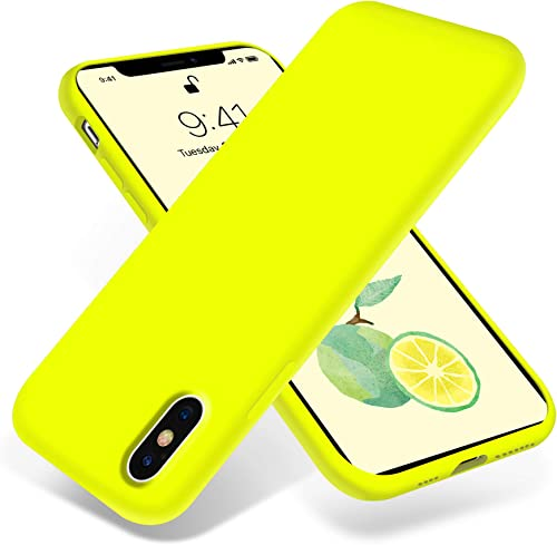 OTOFLY iPhone Xs Max Case,Ultra Slim Fit iPhone Case Liquid Silicone Gel Cover with Full Body Protection Anti-Scratch...