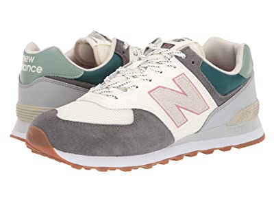 New Balance Classics ML574v2-USA (Magnet/Tropical Green) Men