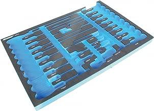 Westward 6ZGT9 Foam Insert, EVA, Black/Blue, For 1CLG1