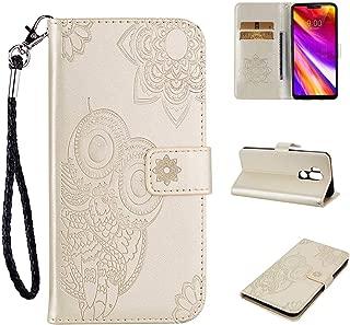 Rosa Viola DENDICO Cover Galaxy A5 2017 Ultra Sottile Flip Custodia PU Pelle Folio Libro Portafoglio con Tasca per Carte per Samsung Galaxy A5 2017