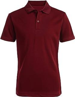Nautica boys Short Sleeve Performance Polo Polo Shirt