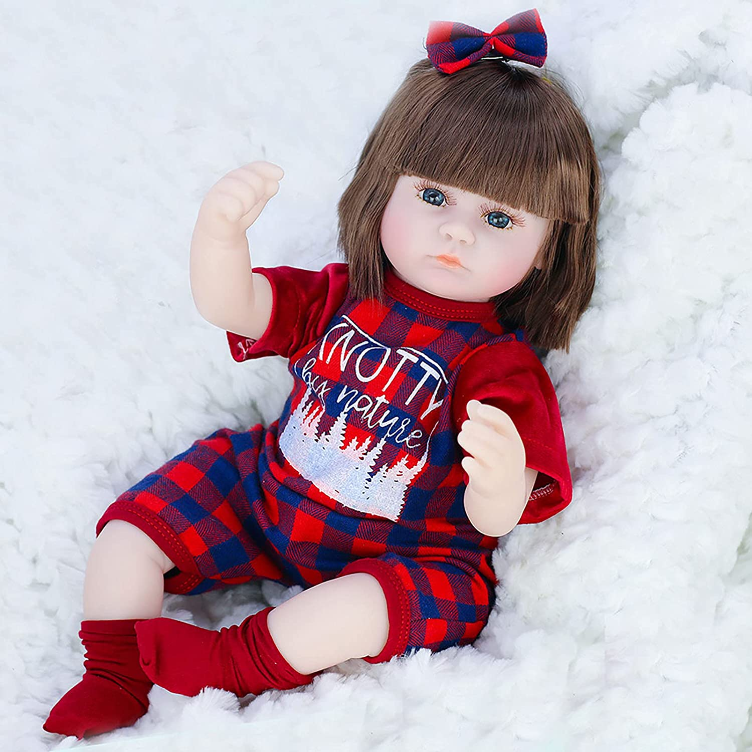 YQY Realistic Baby Doll Lifelike Quantity limited Girl Be Toddler Weighted Virginia Beach Mall