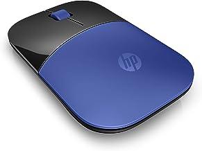 HP Z3700 Blue Wireless Mouse RF Optical 1200DPI Black