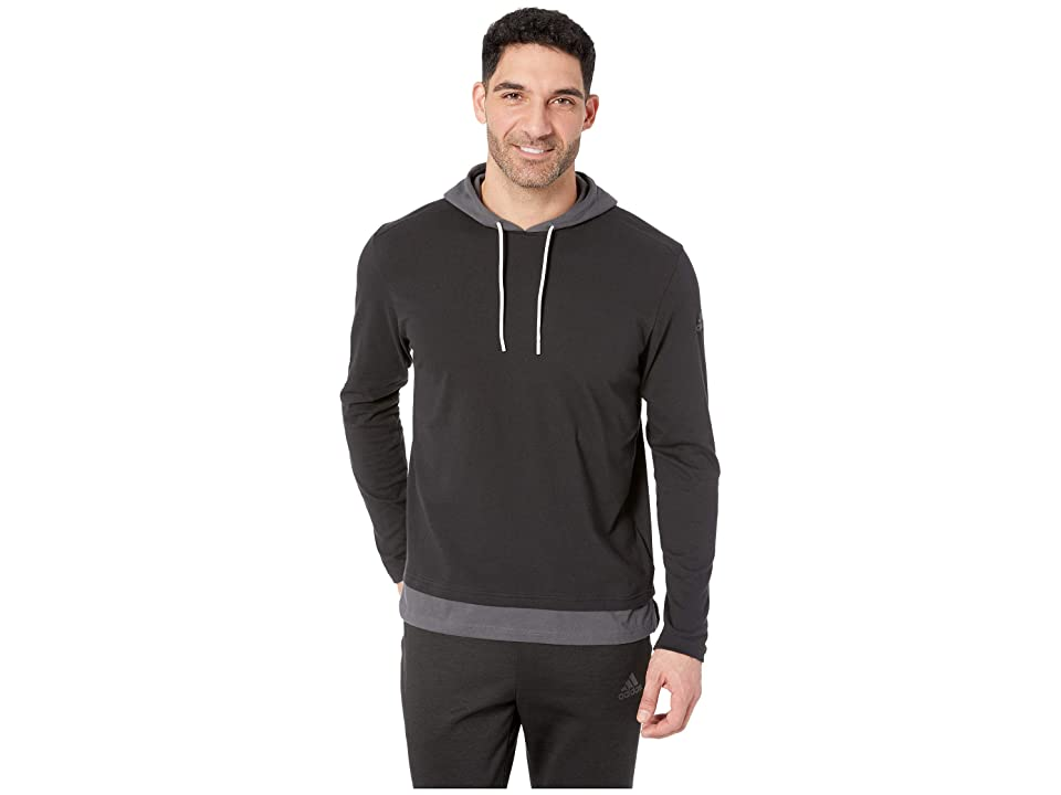 adidas Sport To Street Pullover (Black/Grey Six) Men
