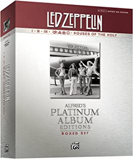 Led Zeppelin I-V (Boxed Set) Platinum Guitar: Authentic Guitar TAB (Book (Boxed Set)): Alfred's Platinum Album Editions