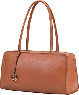LUCKEYSGY Leather Satchel Bag for Women Lady Top handle Purses and Handbags Shoulder Bags