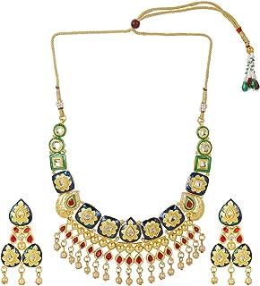 Best meenakari long necklace Reviews