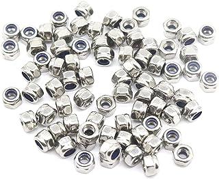 Nylon Small Parts .35CNFHN Nylon Hex Nut M3.5 x 0.6 mm Thread M3.5 Pack of 100
